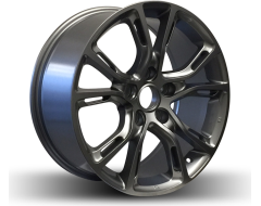 Rim Alloy D01 Series Wheels - Gloss Gun Metal