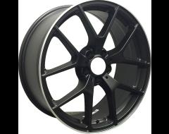 Rim Alloy M06 Series Wheels - Matte Black with Machined Lip