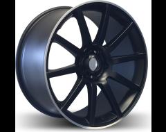 Rim Alloy M08 Series Wheels - Matte Black with Machined Lip