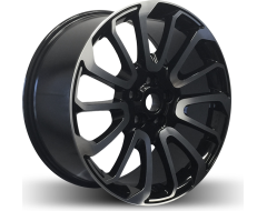 Rim Alloy L05 Series Wheels - Black with Machined Face