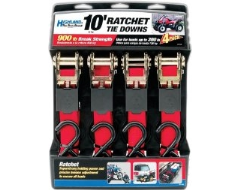 Highland 4 Pack Rachets Tie Down