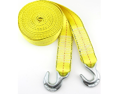Highland 2 in. Width Tow Straps with Hook