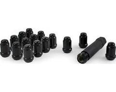 PartsEngine Wheel Lug Nut Kits - Black
