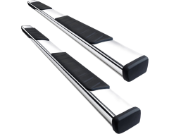 Black Horse Summit Running Boards - Stainless Steel