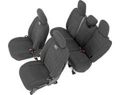 Rough Country Black Neoprene Seat Covers