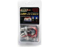 Design Engineering Universal LED Lite N Boltz License Plate Lighting Kit