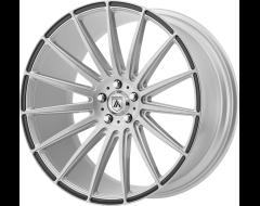 Asanti Wheels ABL-14 POLARIS - Brushed Silver Carbon Fiber Insert