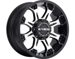 Mickey Thompson Wheels MM-164M - Gloss Black with Natural Accents