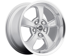 Mickey Thompson Wheels Street Comp (TM) SC-5 (TM) - Hyper Silver Center with Natural Lip