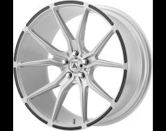 Asanti Wheels ABL-13 VEGA - Brushed Silver Carbon Fiber Insert