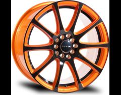 RTX Wheels Blaze - Orange and Black