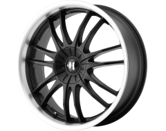 HELO Wheels HE845 - Gloss Black Machined