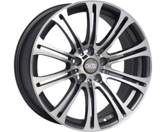 Ceco Wheels Series BK139 - Gunmetal Machined