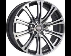 Ceco Wheels Series BK139 - Gunmetal Machined