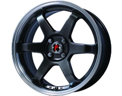 FX Wheels 250 Series - Black with Machined Lip