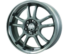 FX Wheels 301 Series - Silver with Natural Lip