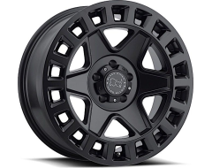 Black Rhino Wheels York - Matte Black