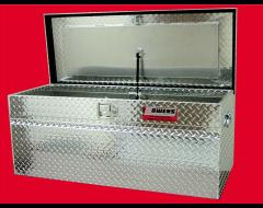 Owens Products Universal Garrison Series RV Style Diamond Paddle Latch Tool Box
