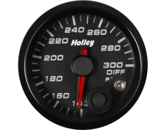 Holley Universal Analog Style Differential Temperature Gauge