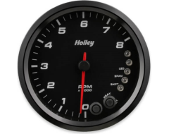 Holley Universal Analog Style Voltage Gauge