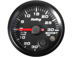 Holley Universal Boost and Vacuum Gauges
