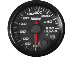 Holley Universal Analog Style Transmission Temperature Gauge