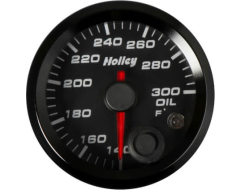 Holley Universal Analog Style Oil Temperature Gauge