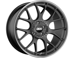 BBS CY Wheels - Black with Stainless Steel Lip