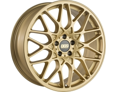 BBS RXR Wheels - Gold with Polished Lip