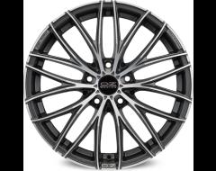 OZ-Sparco Cortina Wheels - Matte Dark Graphite Diamond Cut