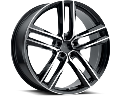 Vision 475 Clutch Wheels - Gloss Black Machined Face