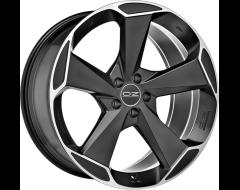 OZ-Sparco Aspen HLT Wheels - Matte Black with Diamond Cut