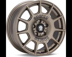 OZ-Sparco Sparco Terra Wheels - Matte Bronze with Black Lettering