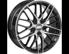 BBS CS Wheels - Black with Diamond Cut Face