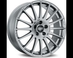 OZ-Sparco Superturismo GT Wheels - Grigio Corsa with Black Lettering