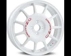 OZ-Sparco Leggenda Wheels - White with Red Lettering