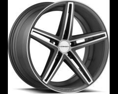 Vossen CV5 Wheels - Matte Graphite with Machined Face