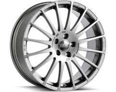 OZ-Sparco Superturismo GT Wheels - Race Silver with Black Lettering