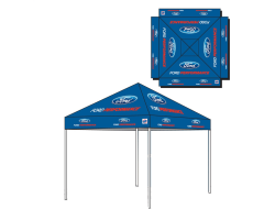Ford Performance Portable Shelter EZ-UP Tent