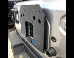 Iron Cross Automotive Spare Tire Relocation Plate