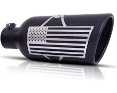 Gibson Universal Patriot Series Exhaust Tip