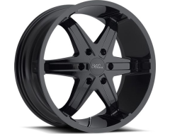Milanni 446 Kool Whip Wheels - Gloss Black