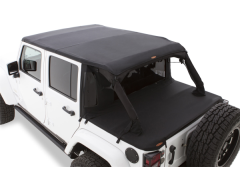 Bushwacker TrailArmor Twill Flat Back Soft Top