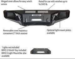 Go Rhino BR10.5 Front Winch Bumper