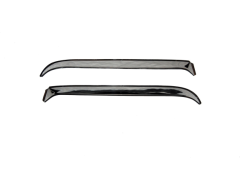 AVS Ventshade Stainless Steel In-Channel Vent Visors