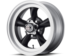 American Racing Wheels VN105 TORQ THRUST D - Satin Black - Machined lip
