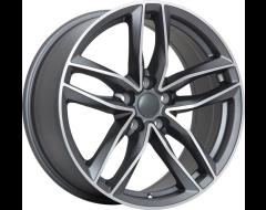 Art Replica Wheels Replica 36 - Matte Gunmetal - Machined Face