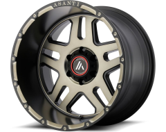 Asanti AB809 ENFORCER Series Wheels - Matte black machined tint