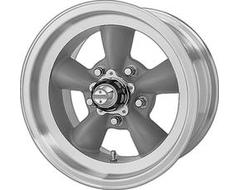 American Racing Wheels VN105 TORQ THRUST D - Torq Thrust grey - Machined lip
