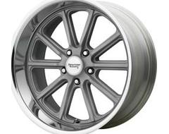 American Racing Wheels VN507 RODDER - Vintage Silver - Diamond Cut Lip